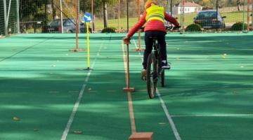 """Turniej rowerowy """"Odblaskowy i sprawny rowerzysta"""""""