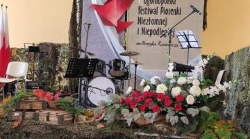 Wyniki konkursu VI Ogólnopolskim Festiwalu Piosenki Niezłomnej i Niepodległej.